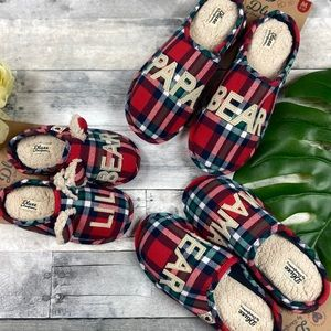 Deluxe Dearfoam Target family slippers papa bear
